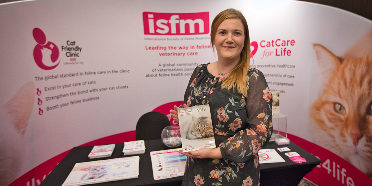 International Cat Care recognises top students for their educational excellence